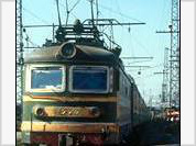 The first Moscow-bound train from Chechnya