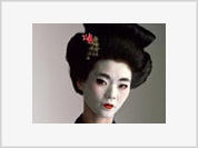 In company with a geisha a man feels like a Man
