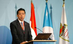 What's China going to do to Interpol president?
