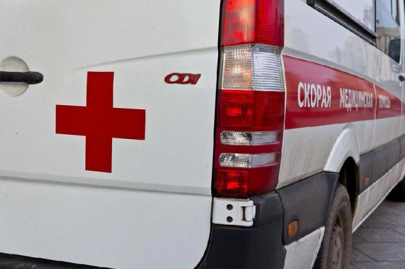 Explosion rips through school in Crimea, 10 killed
