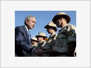 Bush's latest trip to Iraq indicates U.S. plans to change Iraqi government