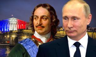 France compares Putin to Peter the Great
