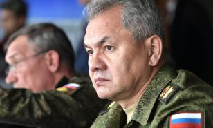 Defence Minister Shoygu orders troops to respond to NATO's provocations