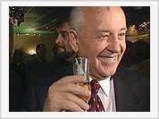 Mikhail Gorbachev and Bill Clinton awarded Grammy Prize