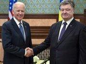 Biden gives Poroshenko cold shower in black hole Ukraine