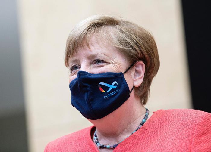 Angela Merkel refuses to discuss Nord Stream 2 with Ukraine's Zelensky