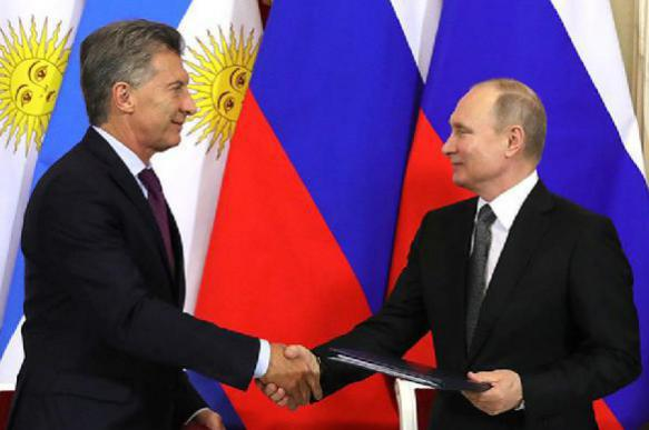 Argentina's relationship with Russia suddenly becomes 'strategic'