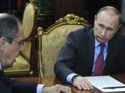 Official photo displays strange object in Putin's office