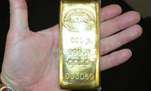 Where does Russia keep her gold?