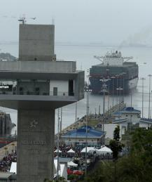 Panama Canal opens after nine years of reconstruction works