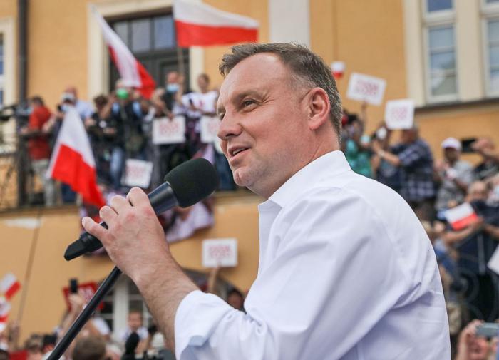 Kremlin shames Polish President Duda for his Russia remarks