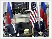 George Bush expects assistance from Vladimir Putin