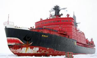 Russian icebreakers break US Arctic ambition
