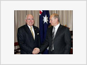 Russia signs nuclear deal with Australia