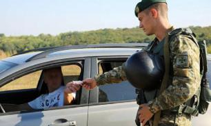 Russian man tries to take his dead wife to Ukraine as a common car passenger