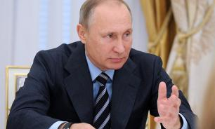 Putin describes the smell in Russia's relations with the West