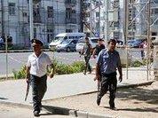 Who arranged the coup in Tajikistan?