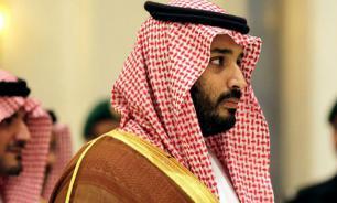 Crown Prince of Saudi Arabia flies to Moscow, having seen Trump off