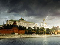 Moscow Kremlin sits on Witch Mountain and Cemetery for Magicians