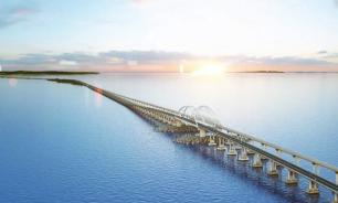 Ukraine harbors plans to destroy Russia's super bridge to Crimea