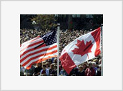 American and Canadian economies change places