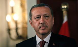Turkish President Erdogan falls asleep during press conference with Ukraine's Poroshenko
