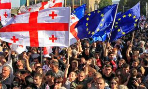 Georgia abandons Ukraine in Brussels