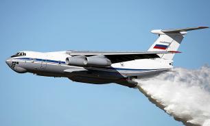 Il-76 waterbomber with 11 on board disappears in Irkutsk