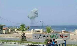 Russia's Su-30 fighter aircraft crashes into Mediterranean Sea in Syria