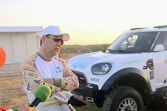 President of Turkmenistan buys luxury rally car for €520,000 in the midst of food crisis
