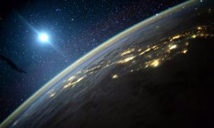 UFO crashes into the Sun