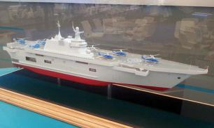 Russia has developed its own helicopter carrier instead of French Mistrals