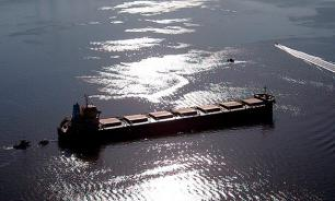 Turkish motor ship crashes into Crimean bridge