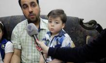 Family of  symbol of Aleppo s suffering  announce support for Bashar Assad