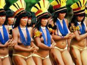 Xingu Indians show how business is done