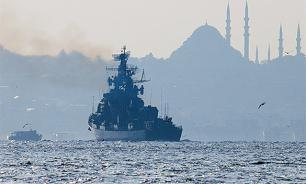 Turkey refuses to accept all ships arriving from Russia's Crimea