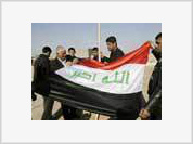 Bush's flag in Baghdad infuriates Iraqis
