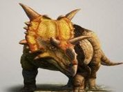 Dinosaur with horns previous to the Triceratops discovered