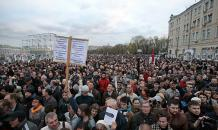 No time for rally: Why Russians dislike protests