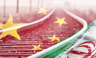 China launches railway communication with Iran