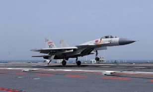 Chinese fighter jet J-10B performs highly complicated aerobatic maneuvers