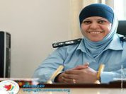 Leading the force, ending violence against women her motto