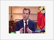 President Medvedev's conversation with Gazprom Chairman Aleksei Miller