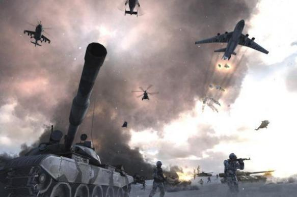 As soon as Russia looks away, NATO will attack