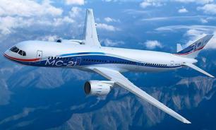 Russia's new MC-21 passenger plane goes on maiden flight