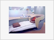 A-380 superjumbo jet offers double beds, privacy and champagne but bans sex onboard
