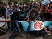 Europe keeps silence: migrants force Old World