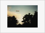 A large cigar spotted in the Arizona sky