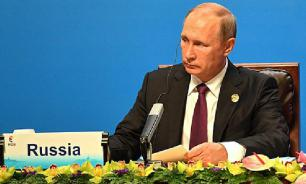Putin sees no drama if Russia misses Davos forum