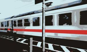 Sex on railway tracks deprives woman of her head